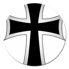 Cross Of The Teutonic Order Magnet 5  (round) by abbeyz71