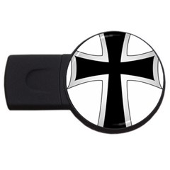 Cross Of The Teutonic Order Usb Flash Drive Round (4 Gb) by abbeyz71