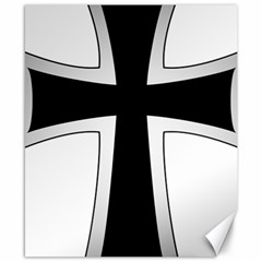 Cross Of The Teutonic Order Canvas 8  X 10  by abbeyz71