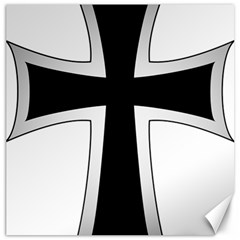 Cross Of The Teutonic Order Canvas 16  X 16   by abbeyz71