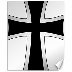 Cross Of The Teutonic Order Canvas 16  X 20   by abbeyz71