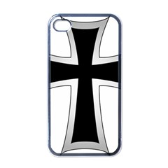 Cross Of The Teutonic Order Apple Iphone 4 Case (black) by abbeyz71