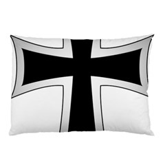 Cross Of The Teutonic Order Pillow Case (two Sides) by abbeyz71