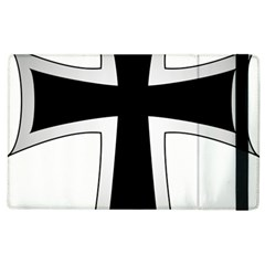 Cross Of The Teutonic Order Apple Ipad 2 Flip Case by abbeyz71