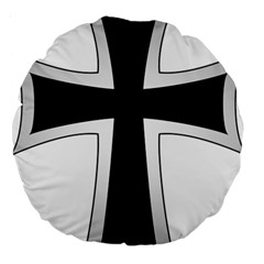 Cross Of The Teutonic Order Large 18  Premium Round Cushions by abbeyz71