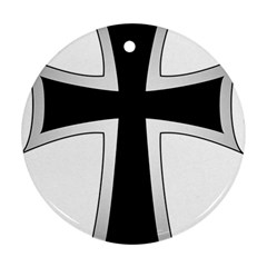 Cross Of The Teutonic Order Ornament (round) by abbeyz71