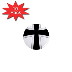 Cross Of The Teutonic Order 1  Mini Magnet (10 Pack)  by abbeyz71