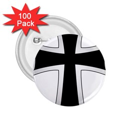 Cross Of The Teutonic Order 2 25  Buttons (100 Pack)  by abbeyz71