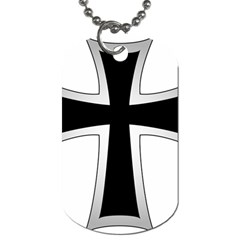 Cross Of The Teutonic Order Dog Tag (one Side) by abbeyz71