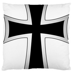 Cross Of The Teutonic Order Large Flano Cushion Case (one Side) by abbeyz71