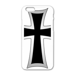 Cross Of The Teutonic Order Apple Iphone 6/6s White Enamel Case by abbeyz71