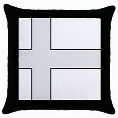 Cross Of Philip The Apostle Throw Pillow Case (black) by abbeyz71