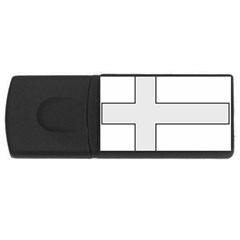 Cross Of Philip The Apostle Usb Flash Drive Rectangular (4 Gb) by abbeyz71