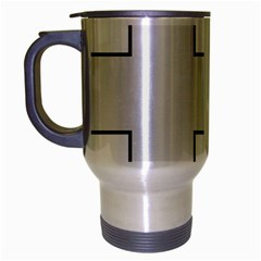 Cross Of Philip The Apostle Travel Mug (silver Gray) by abbeyz71