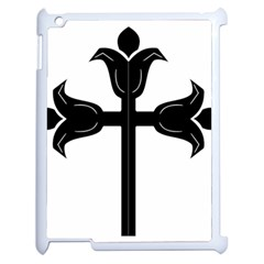 Caucasian Albanian Cross Apple Ipad 2 Case (white) by abbeyz71