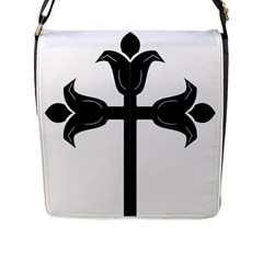 Caucasian Albanian Cross Flap Messenger Bag (l)  by abbeyz71