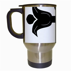 Caucasian Albanian Cross Travel Mugs (white) by abbeyz71