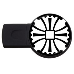 Canterbury Cross  Usb Flash Drive Round (2 Gb) by abbeyz71
