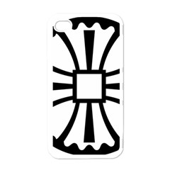 Canterbury Cross  Apple Iphone 4 Case (white) by abbeyz71