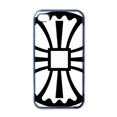 Canterbury Cross  Apple Iphone 4 Case (black) by abbeyz71