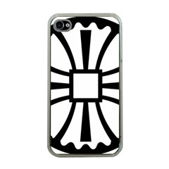 Canterbury Cross  Apple Iphone 4 Case (clear) by abbeyz71