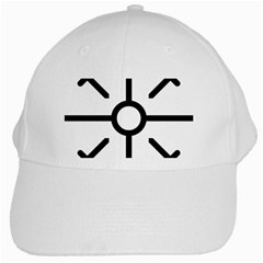 Coptic Cross White Cap by abbeyz71