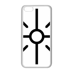 Coptic Cross Apple Iphone 5c Seamless Case (white) by abbeyz71