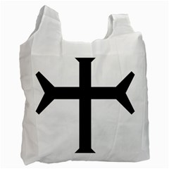 Eastern Syriac Cross Recycle Bag (one Side) by abbeyz71