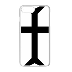 Eastern Syriac Cross Apple Iphone 7 Plus White Seamless Case by abbeyz71