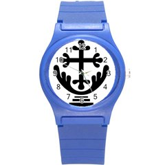 Anuradhapura Cross Round Plastic Sport Watch (s) by abbeyz71