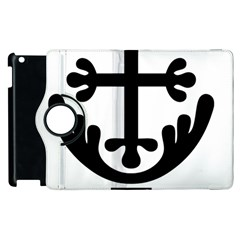 Anuradhapura Cross Apple Ipad 2 Flip 360 Case by abbeyz71