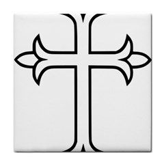 Western Syriac Cross Tile Coasters by abbeyz71