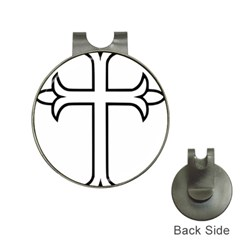 Western Syriac Cross Hat Clips With Golf Markers