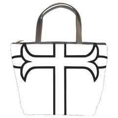 Western Syriac Cross Bucket Bags