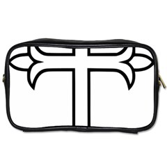 Western Syriac Cross Toiletries Bags