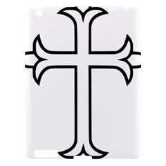 Western Syriac Cross Apple Ipad 3/4 Hardshell Case