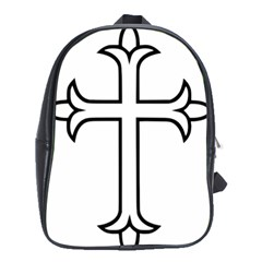 Western Syriac Cross School Bags (xl)