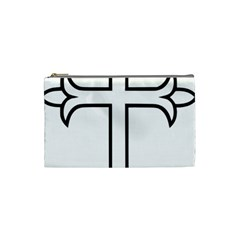 Western Syriac Cross Cosmetic Bag (small)  by abbeyz71