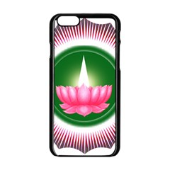 Ayyavazhi Symbol  Apple Iphone 6/6s Black Enamel Case by abbeyz71