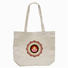 Ayyavazhi Symbol  Tote Bag (cream) by abbeyz71