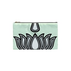 Ayyavazhi Symbol Cosmetic Bag (small)  by abbeyz71