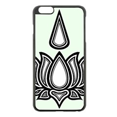 Ayyavazhi Symbol Apple Iphone 6 Plus/6s Plus Black Enamel Case by abbeyz71