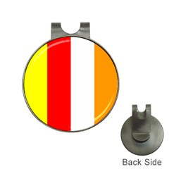International Flag Of Buddhism Hat Clips With Golf Markers by abbeyz71