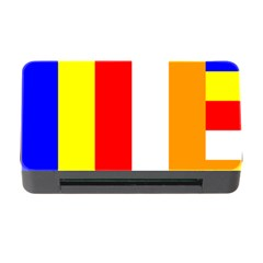 International Flag Of Buddhism Memory Card Reader With Cf by abbeyz71
