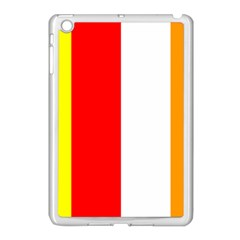 International Flag Of Buddhism Apple Ipad Mini Case (white) by abbeyz71