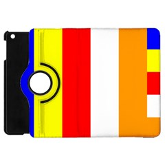 International Flag Of Buddhism Apple Ipad Mini Flip 360 Case by abbeyz71