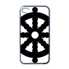 Dharmacakra Apple Iphone 4 Case (black) by abbeyz71