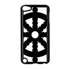 Dharmacakra Apple Ipod Touch 5 Case (black) by abbeyz71