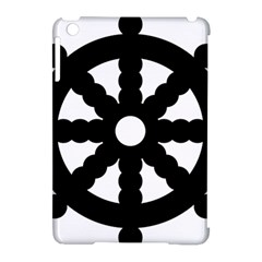 Dharmacakra Apple Ipad Mini Hardshell Case (compatible With Smart Cover) by abbeyz71