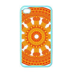 Dharmacakra Apple Iphone 4 Case (color) by abbeyz71